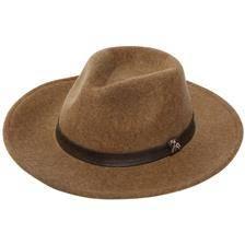 Chapeau homme ligne verney-carron woolchap fox - marron