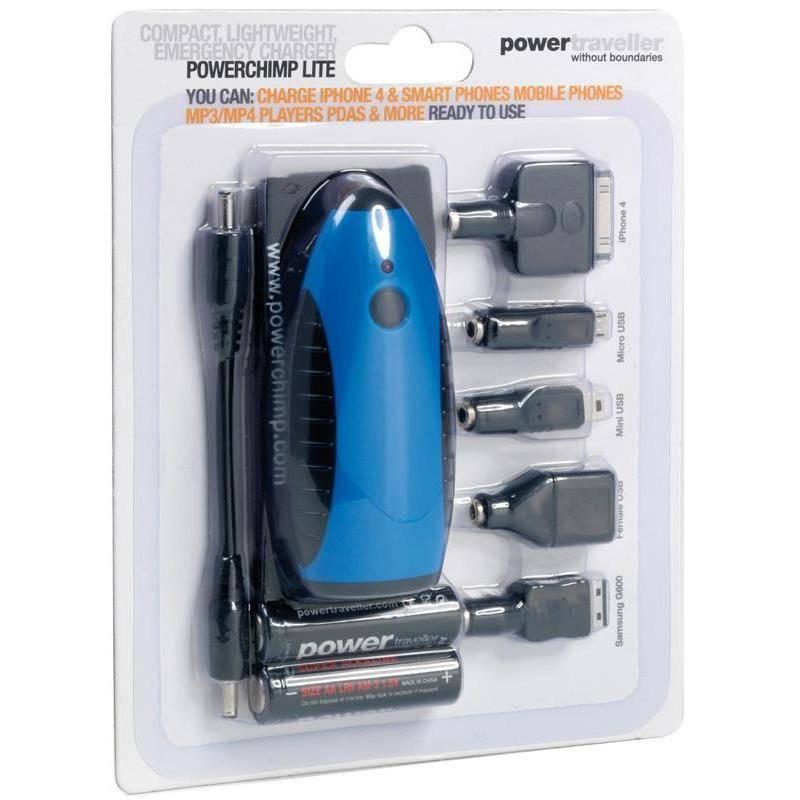 Chargeur De Pile Powertraveller Powerchimp Lite