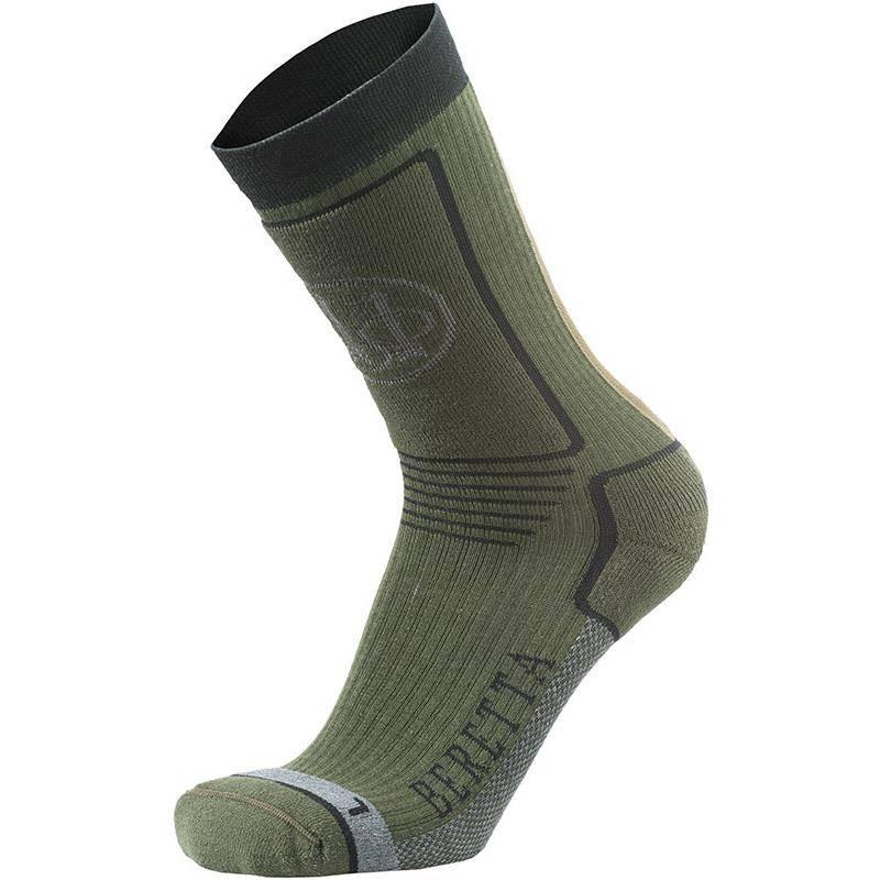 Chaussettes Homme Beretta Hunting Short Socks - Vert