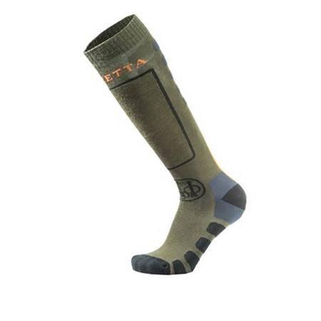 Chaussettes Homme Beretta Long Merino Socks - Vert