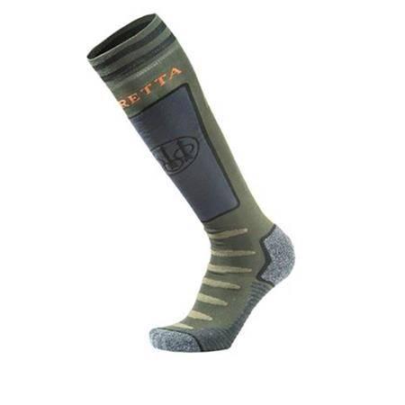 Chaussettes Homme Beretta Long Primaloft Socks - Vert