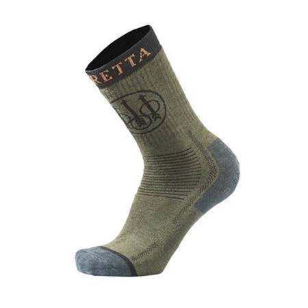 Chaussettes Homme Beretta Short Merino Socks - Vert