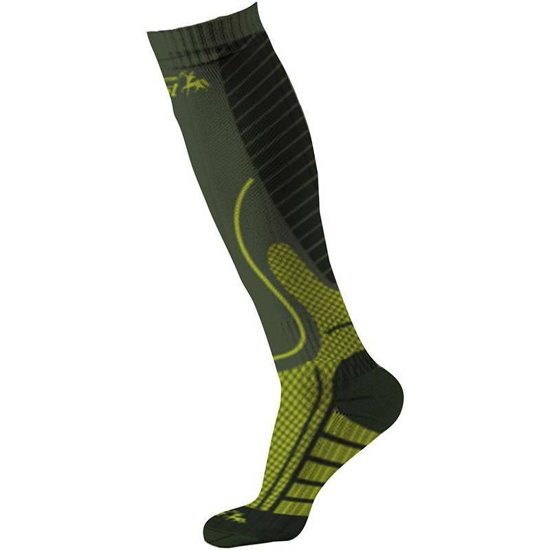 Chaussettes Homme Ligne Verney-Carron Booster Socks - Kaki