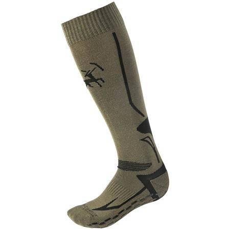 Chaussettes Homme Ligne Verney-Carron Grip Socks - Gris