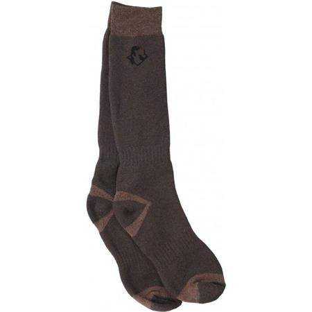 CHAUSSETTES HOMME SOMLYS 062 THERMO HUNT - MARRON