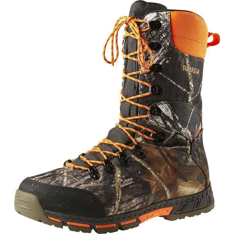 Chaussures Homme Harkila Light Gtx 10'' Dog Keeper - Camou/Orange