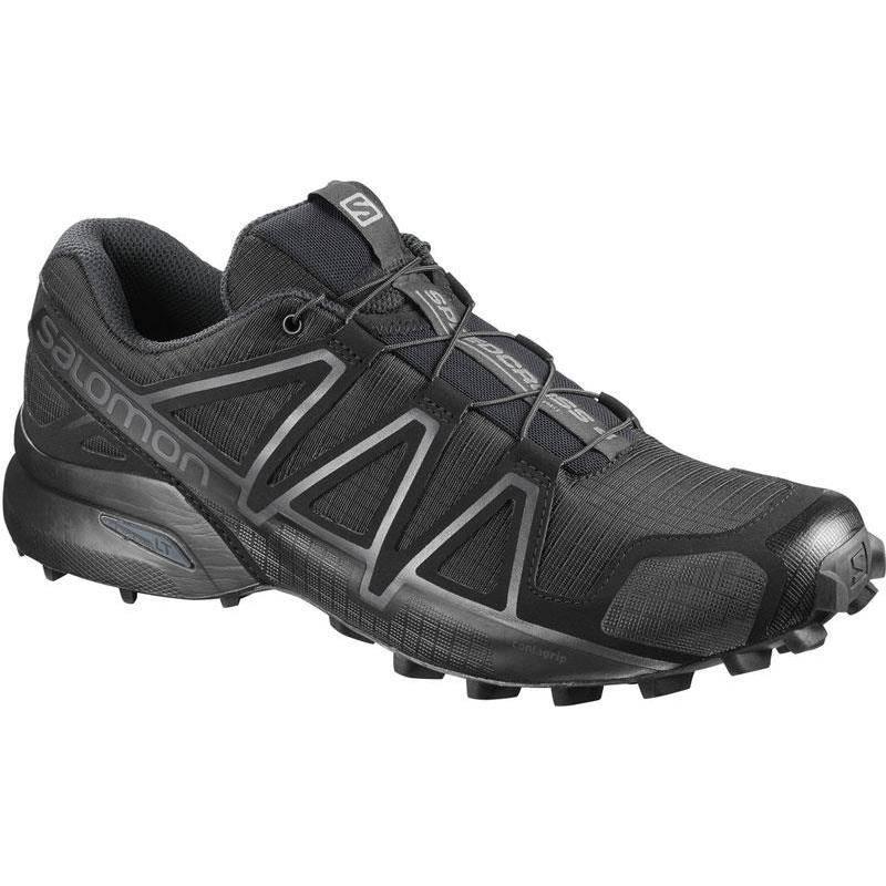 Chaussures Homme Salomon Speedcross 4 Wide Force - Noir