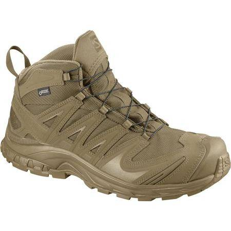 CHAUSSURES HOMME SALOMON XA FORCES MID GTX - COYOTE