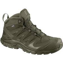 Chaussures homme salomon xa forces mid gtx - vert