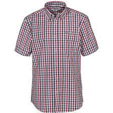 Chemise manches courtes idaho rando - rouge