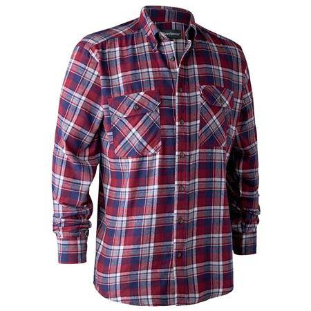 Chemise Manches Longues Deerhunter Marvin I - Rouge