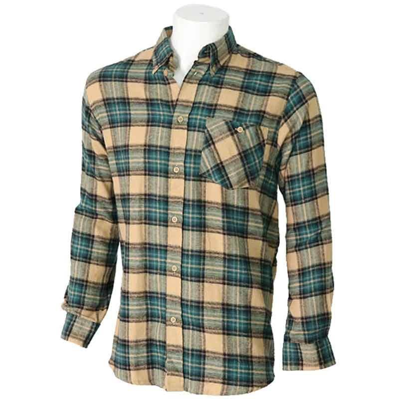 CHEMISE MANCHES LONGUES HOMME BARTAVEL ANDES - VERT