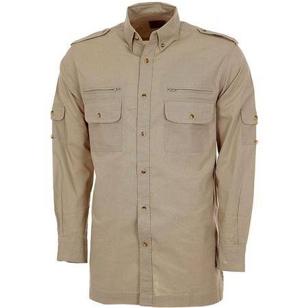 CHEMISE MANCHES LONGUES HOMME BARTAVEL AUTHENTIC - BEIGE