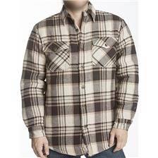 Chemise manches longues homme bartavel ottawa - brun