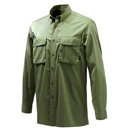 Chemise Manches Longues Homme Beretta Selous Sport Shirt - Vert