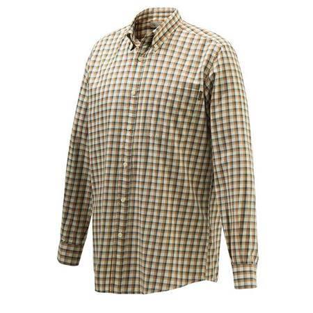 Chemise Manches Longues Homme Beretta Wood Button Down Shirt - Beige