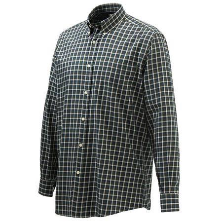 Chemise Manches Longues Homme Beretta Wood Button Down Shirt - Vert