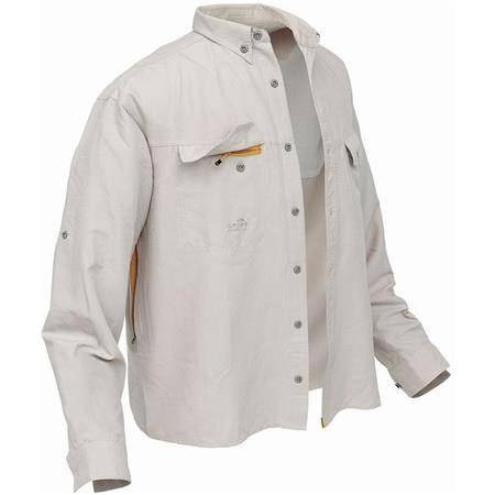 Chemise Manches Longues Homme Geoff Anderson Polybrush 2 - Sable