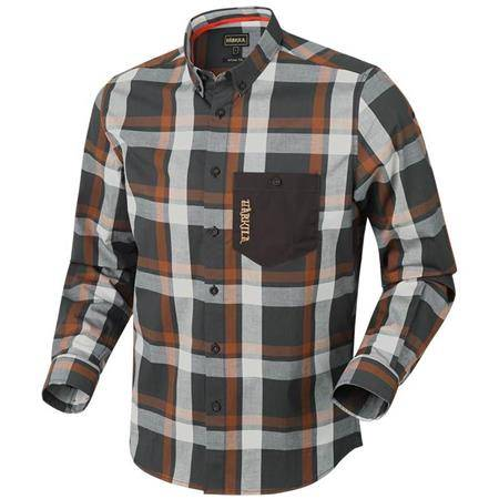 CHEMISE MANCHES LONGUES HOMME HARKILA AMLET L/S - SPICE
