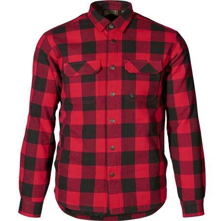 Chemise Manches Longues Homme Harkila Canada - Rouge