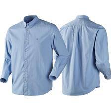 Chemise manches longues homme harkila jomsborg - bleu