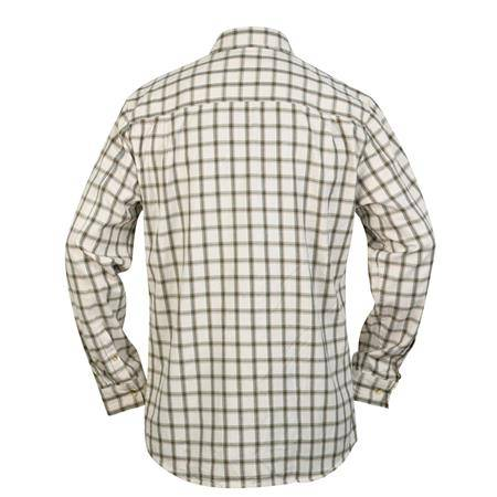 CHEMISE MANCHES LONGUES HOMME HART MOURA - BLANC/VERT