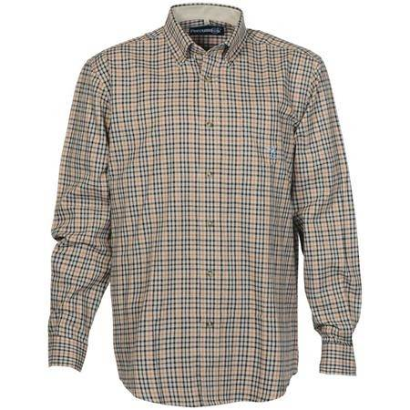 CHEMISE MANCHES LONGUES HOMME IDAHO BEAUGENCY - BEIGE