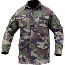 Chemise manches longues homme opex guerilla ripstop - camou