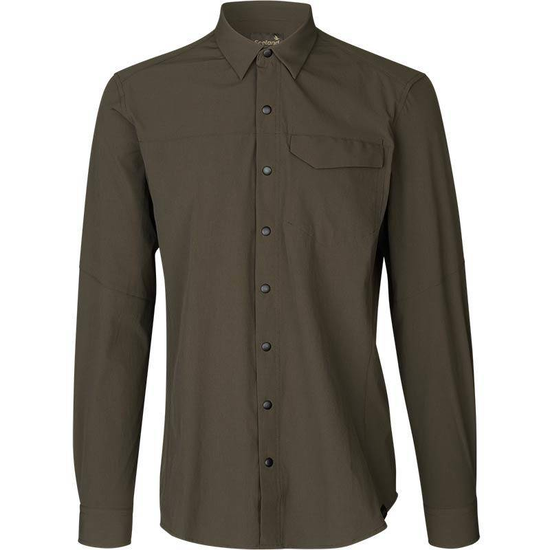 Chemise Manches Longues Homme Seeland Hawker - Vert