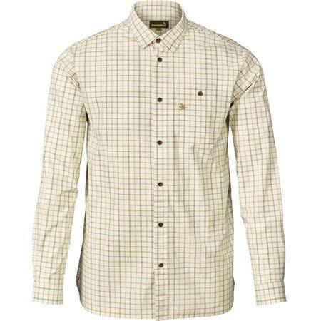 CHEMISE MANCHES LONGUES HOMME SEELAND KEEPER - CARREAUX VERT