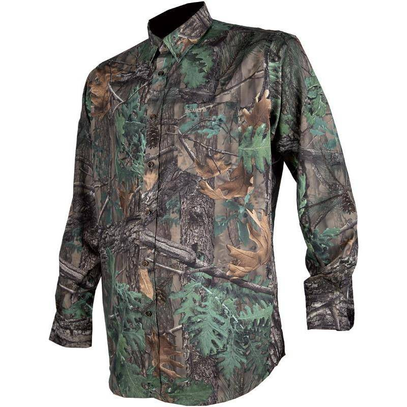 Chemise Manches Longues Homme Somlys 502 - Camo 3Dxg