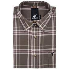 Chemise manches longues homme stagunt jaillot shirt forest night - vert