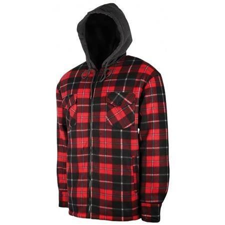 Chemise Manches Longues Homme Treeland T510 Polaire Sherpa - Rouge