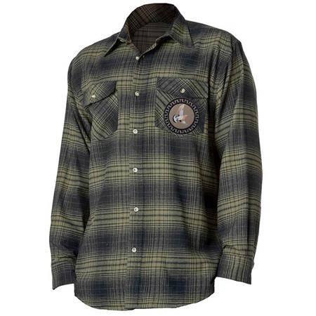 Chemises Manches Longues Homme Bartavel Confort Palombe - Vert