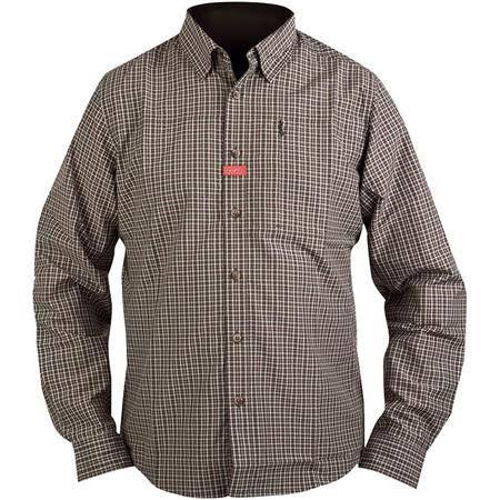 Chemises Manches Longues Homme Hart Eyne - Marron