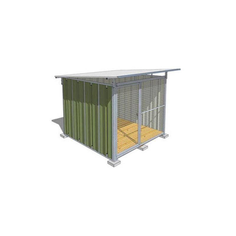 Chenil Tole Difac Standard - Vert