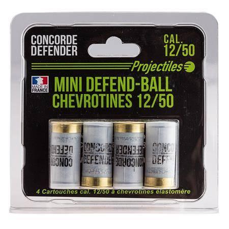 Chevrotine Concorde Defender Mini Defend Ball Elastomere - Calibre 12/50