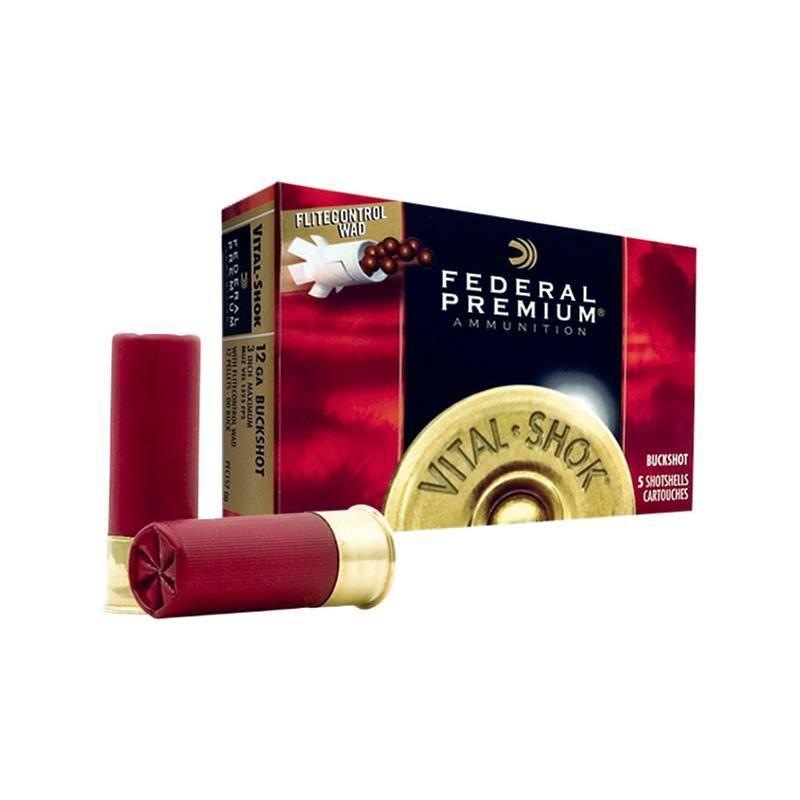 Chevrotine Federal Premium Vital Shok - Calibre 12