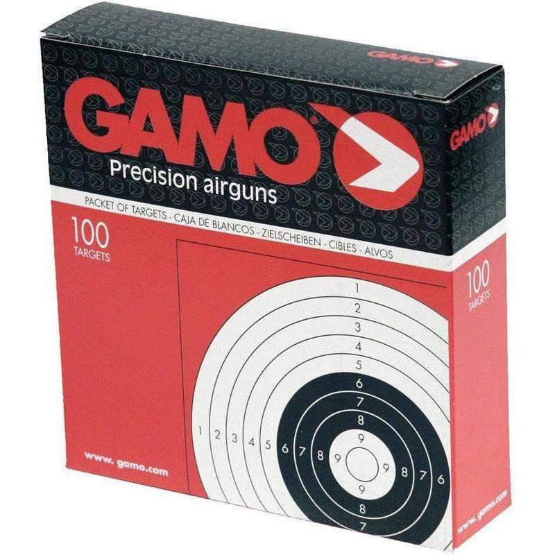 CIBLE NOIRE GAMO 14 X 14 - PAR 100 - G5100
