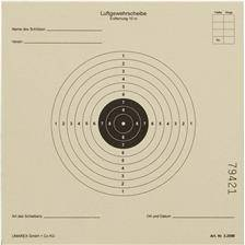Cible papier umarex 14x14 - par 1000