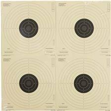 Cible papier umarex 17x17 - par 1000