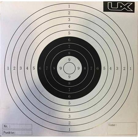 Cible Papier Ux 14X14 - Par 100
