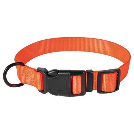 Collier Chien Stepland Polyester - Orange