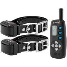 Collier de dressage dog trace d-control 602+ - 2 chiens