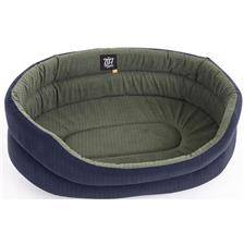 Corbeille chien tissu ovale