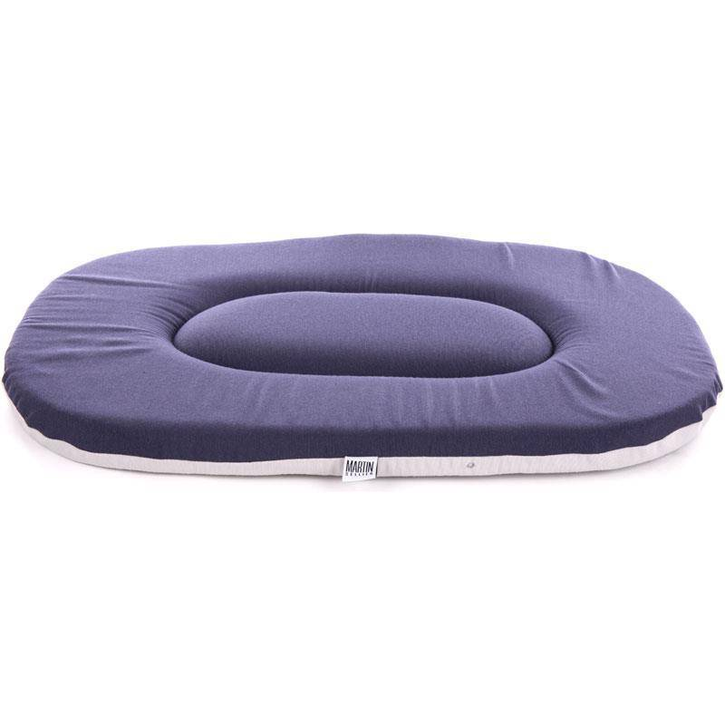 Coussin Chien Ovale Plat
