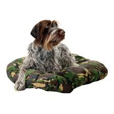 Coussin ouatine chien collection camouflage