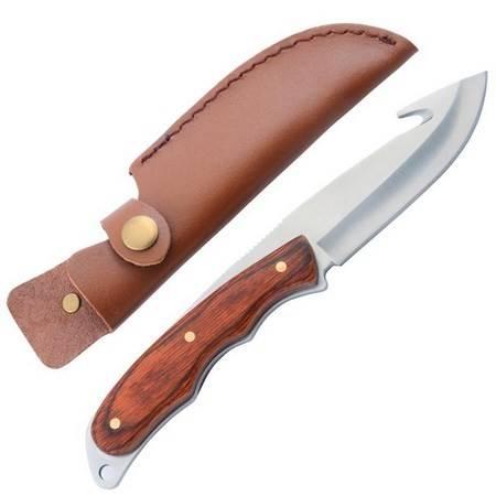 Couteau A Depecer Januel Manche Bois Rouge