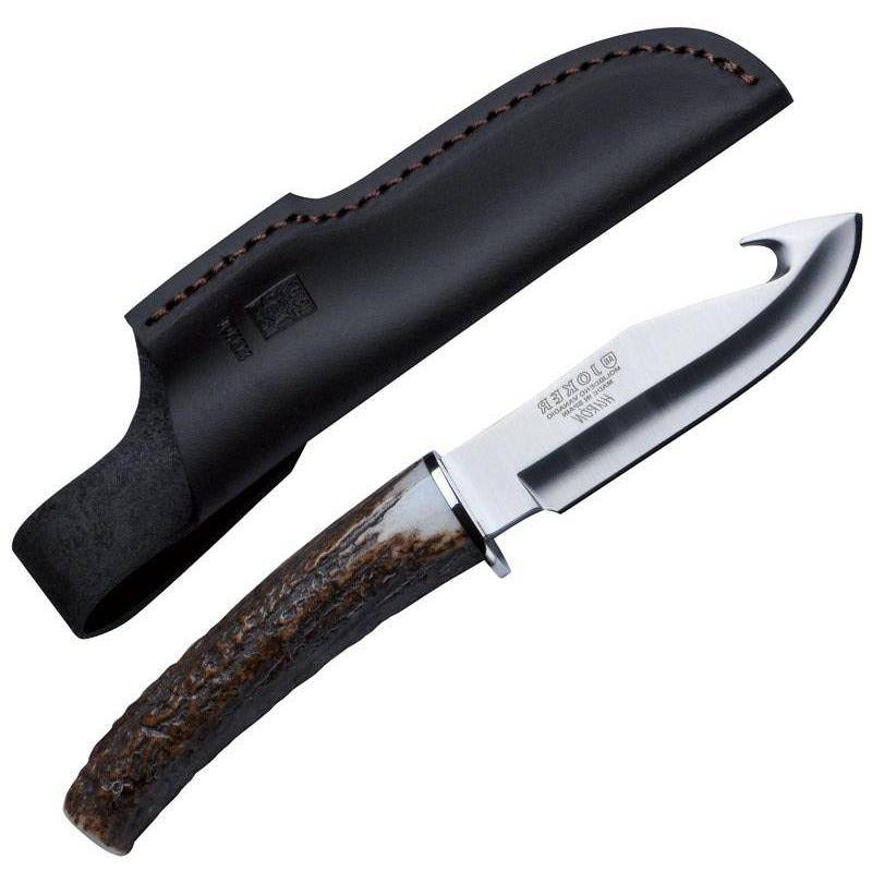 Couteau Skinner Januel Manche Cerf