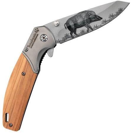Couteau Stepland Impression Sanglier